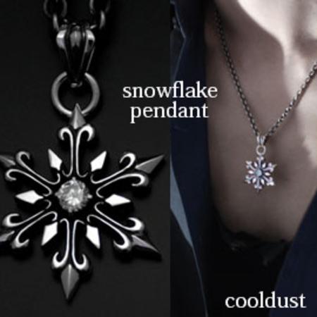 [cooldust] snowflake pendant