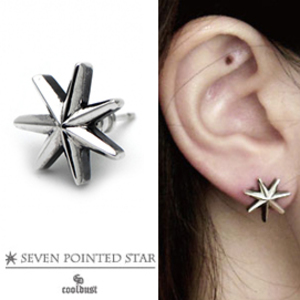 [cool dust] seven pointed star pierce