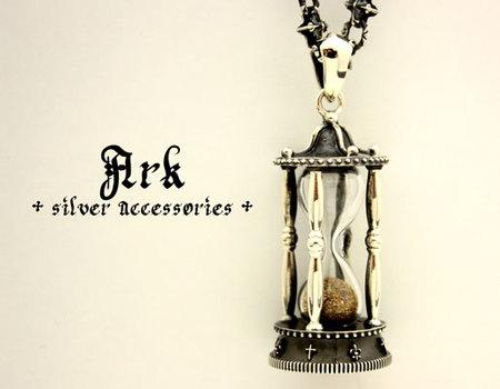 砂時計ペンダント ペンダント ブランド [Ark silver accessories]
